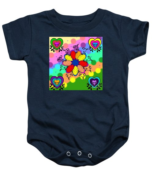 Forever Floral Baby Onesie