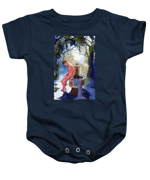 Fountain Baby Onesie
