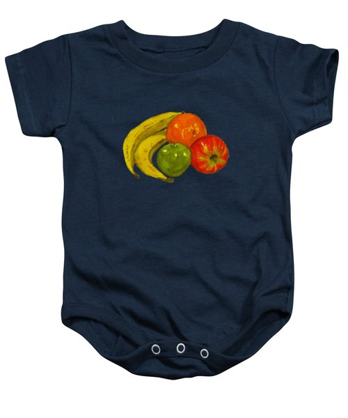 Fruit T-shirt Design Baby Onesie