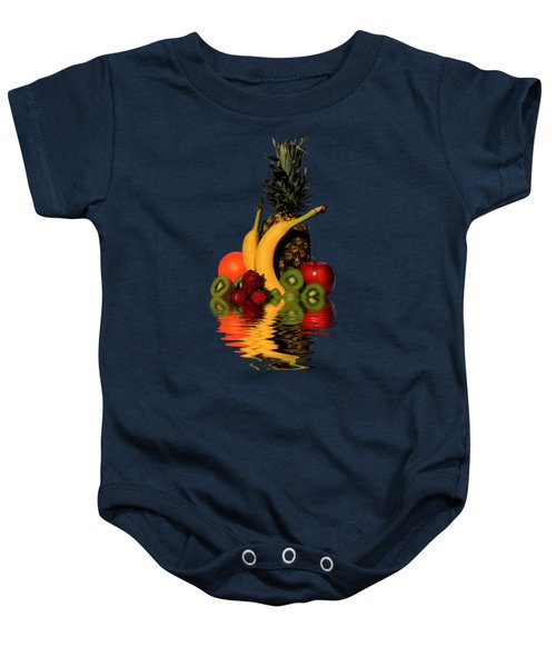 Fruity Reflections - Dark Baby Onesie
