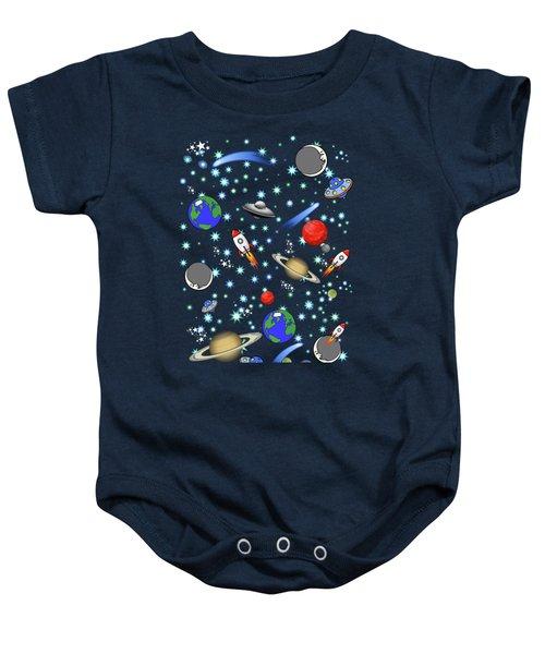 Galaxy Universe Baby Onesie