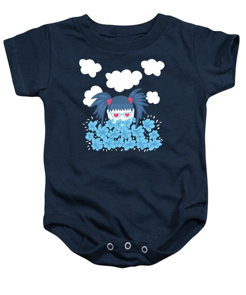 Geek Girl Waiting For Spring Baby Onesie