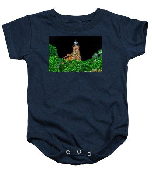 Genesee Lighthouse Baby Onesie