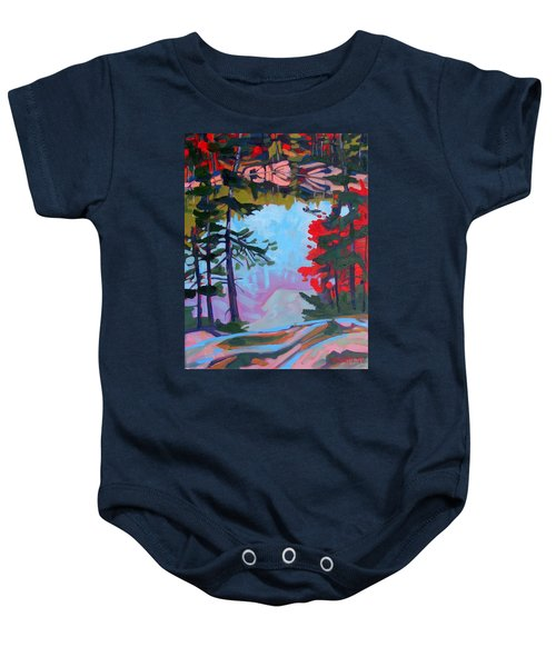 George Lake East Basin Baby Onesie