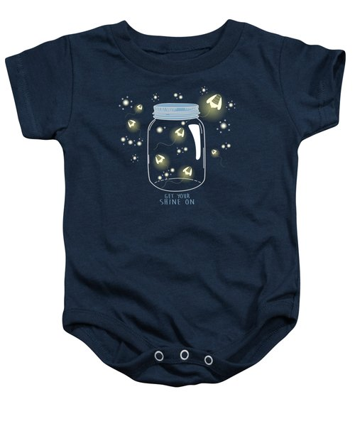 Get Your Shine On Baby Onesie