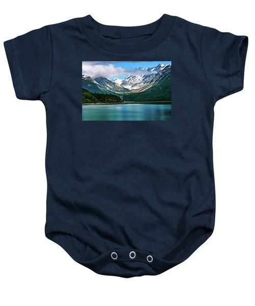 Glacial Valley Baby Onesie