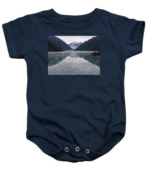 Glacier Blues Baby Onesie