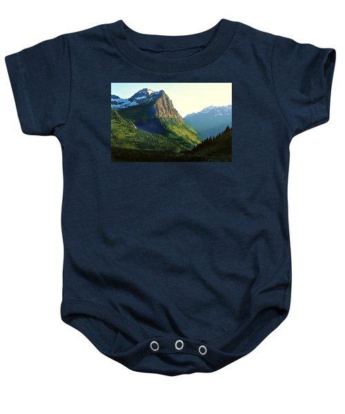Glacier National Park 2 Baby Onesie