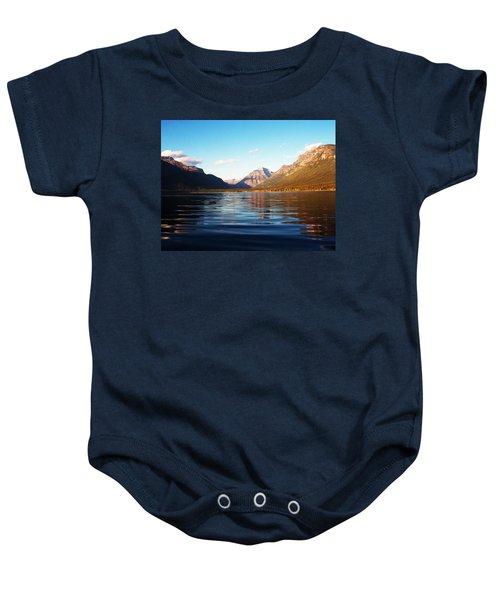 Glacier National Park 7 Baby Onesie