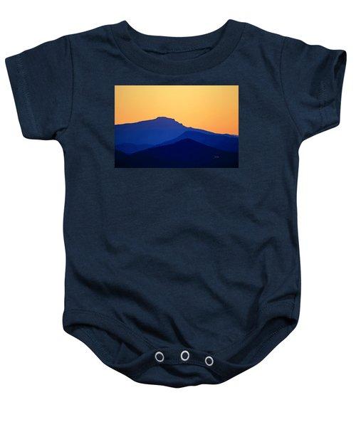 Grandfather Sunset Baby Onesie
