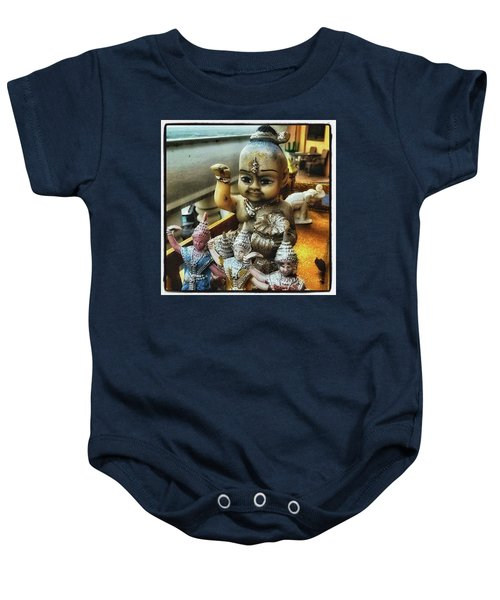 Baby Onesie featuring the photograph Greetings From Thailand. These Jolly by Mr Photojimsf