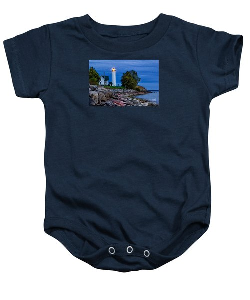 Guiding Light Baby Onesie