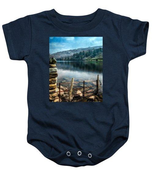 Gwynant Lake Baby Onesie