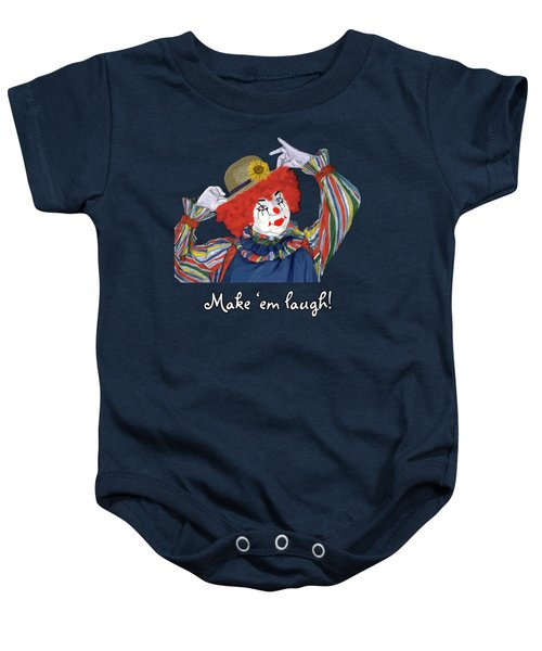 Happy Clown Baby Onesie