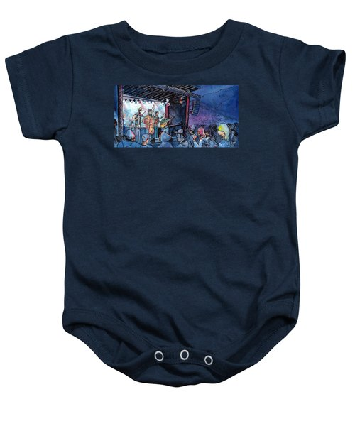 Head For The Hills At The Mish Baby Onesie