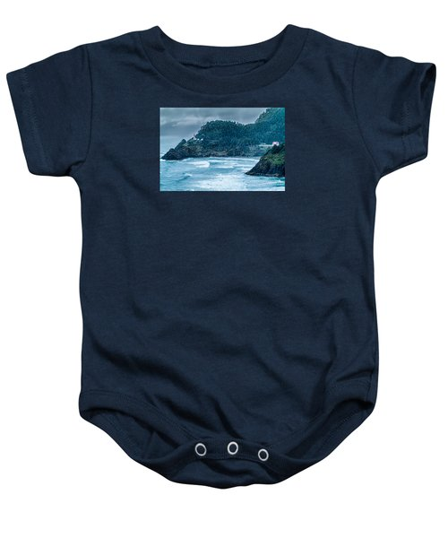 Heceta Head Lighthouse Baby Onesie
