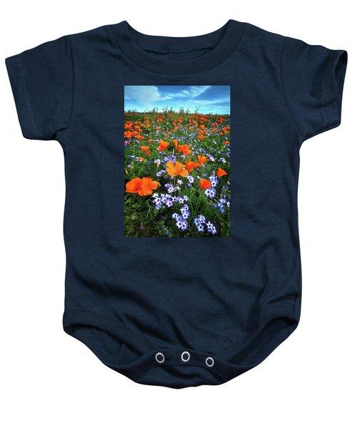 High Desert Wildflowers Baby Onesie