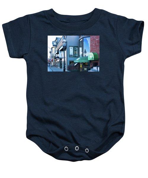 Historic Newport Buildings Baby Onesie