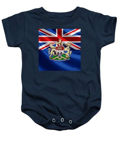 Hong Kong - 1959-1997 Coat Of Arms  Baby Onesie