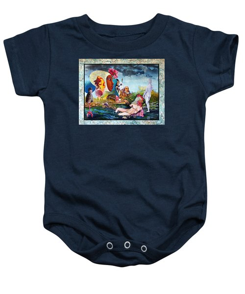 Hour Of The Cock Baby Onesie