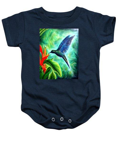 Humming Bird  Baby Onesie