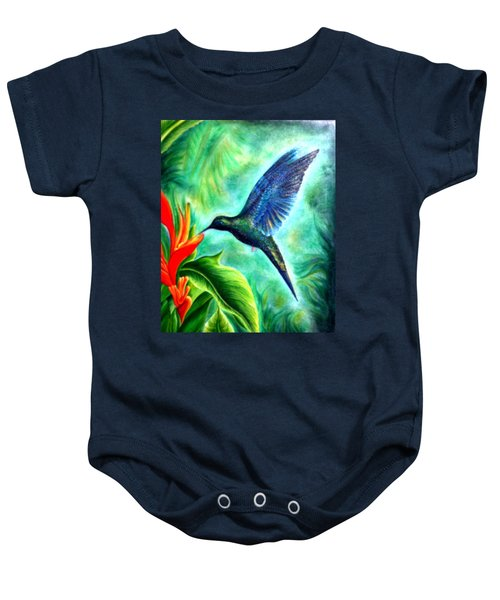 Humming Bird  Baby Onesie