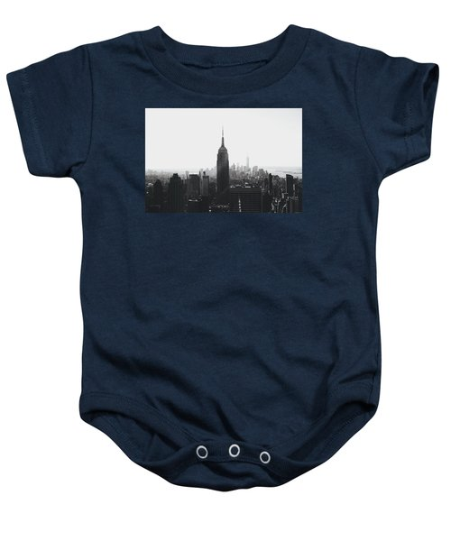 I'll Take Manhattan  Baby Onesie by J Montrice