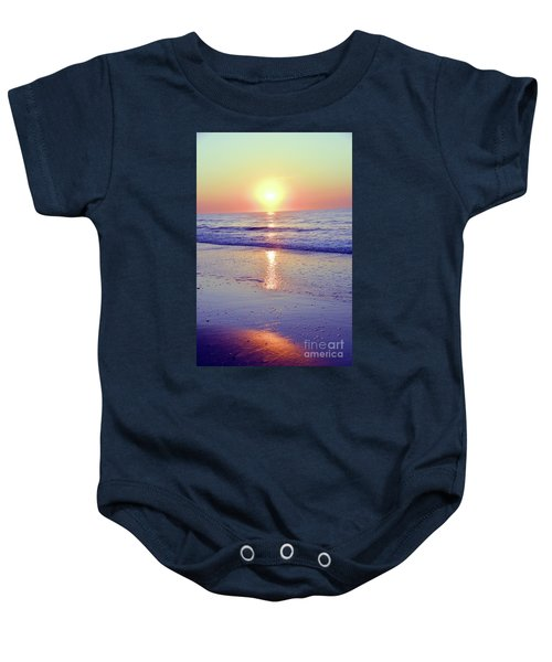 In The Morning Light Everything Is Alright Baby Onesie