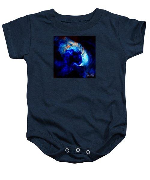 Ink Swirls 002 Baby Onesie