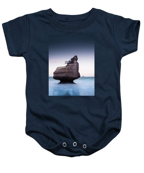 Into The Blue Baby Onesie