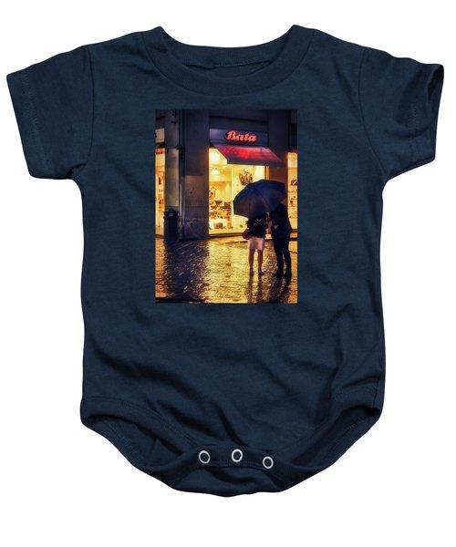 It Is Raining In Firenze Baby Onesie