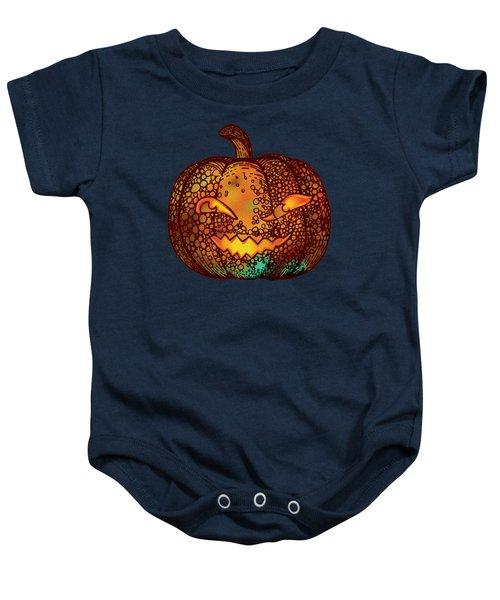 Jack O Lantern Baby Onesie
