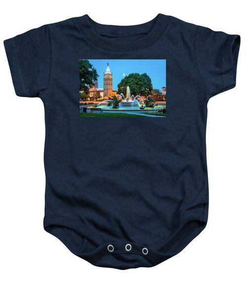 J.c. Nichols Memorial Fountain Baby Onesie