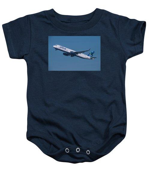jetBlue Airbus A321 Baby Onesie