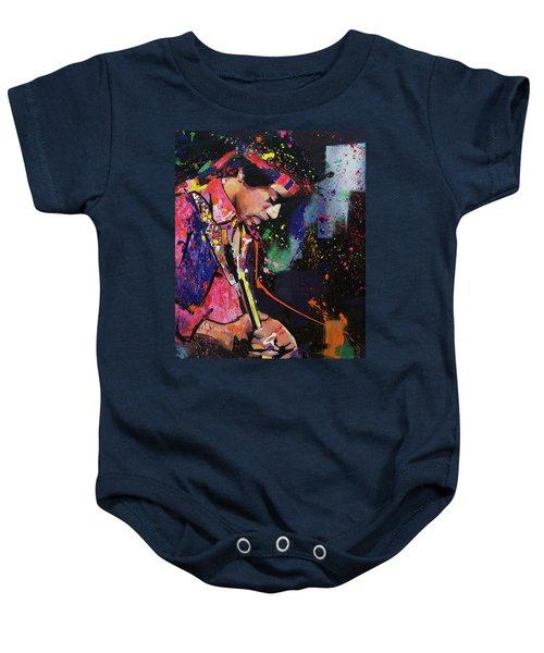 Jimi Hendrix II Baby Onesie