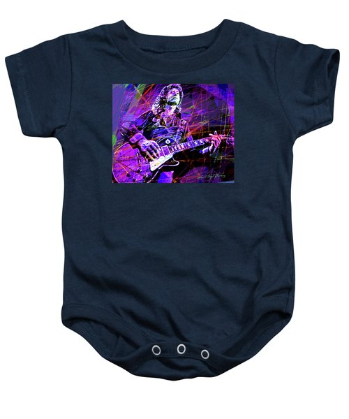 Jimmy Page Solos Baby Onesie