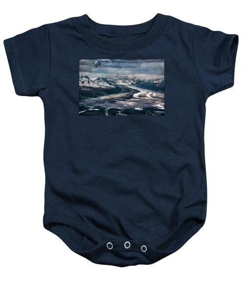 Kahiltna Glacier Baby Onesie