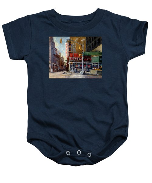 Katz's Delicatessen, New York City Baby Onesie
