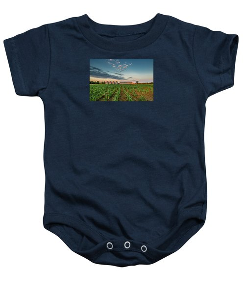 Knee High Sweet Corn Baby Onesie