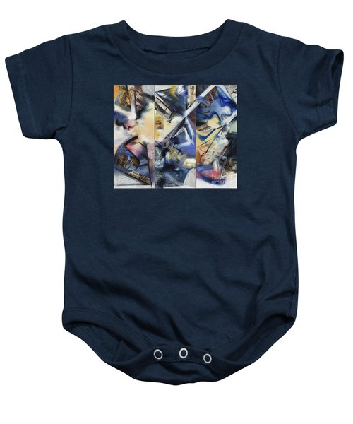 Kuan Answers According To A. W. Watts Baby Onesie