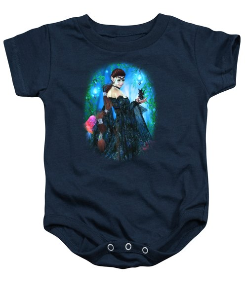 Lady Of The Dragon Fae Baby Onesie by Brandy Thomas