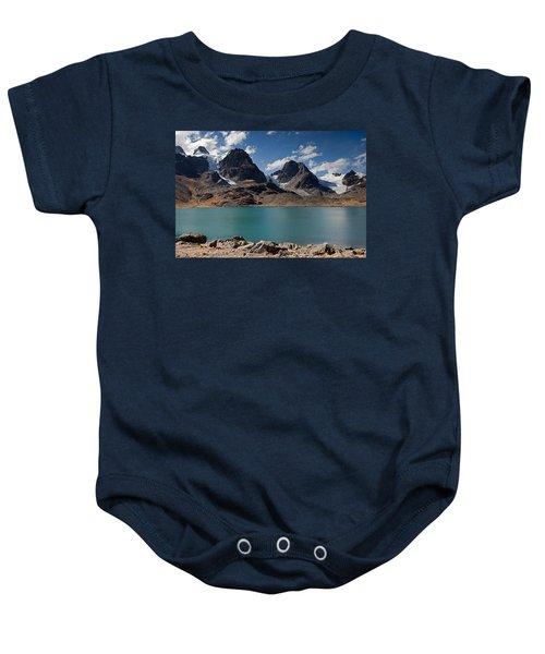 Laguna Chiar Khota In Condoriri Mountains Baby Onesie