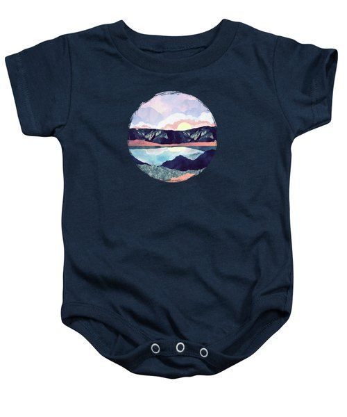 Lake Reflection Baby Onesie