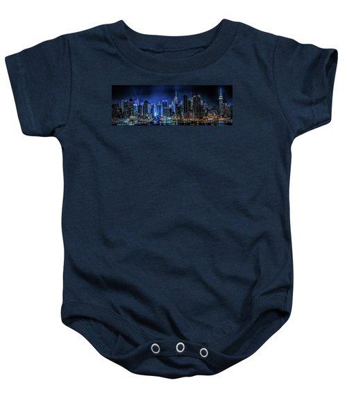 Land Of Tall Buildings Baby Onesie