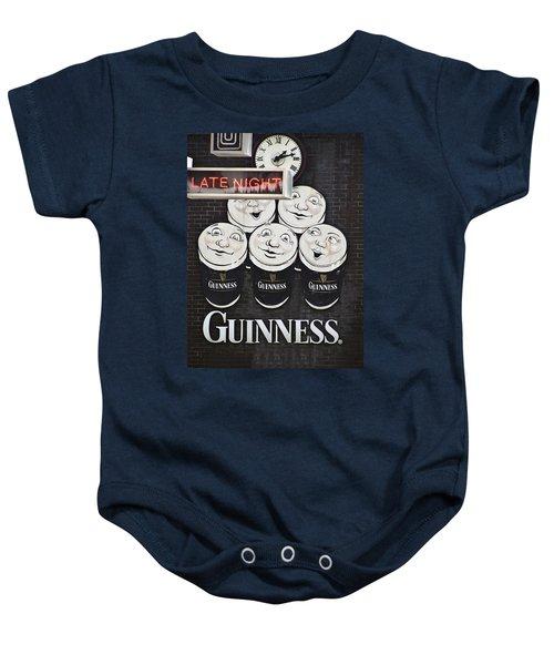 Late Night Guinness Limerick Ireland Baby Onesie