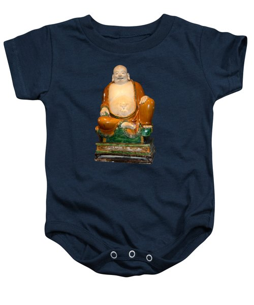 Laughing Monk Baby Onesie