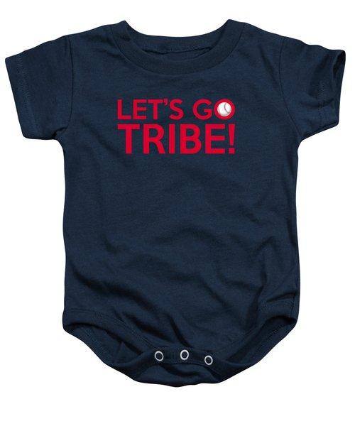 Let's Go Tribe Baby Onesie