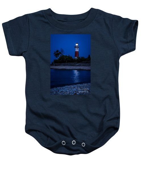 Lighthouse Reflection Baby Onesie