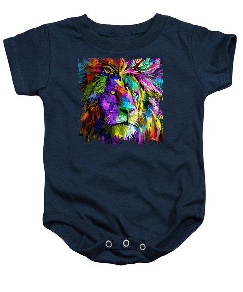 Lion Head Baby Onesie