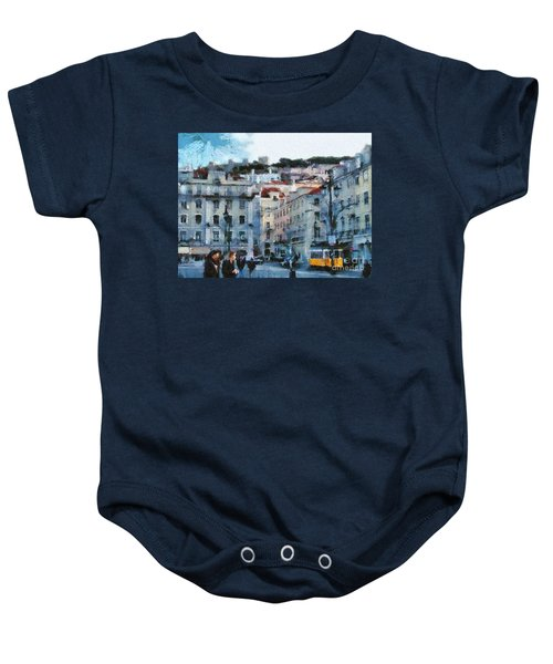 Lisbon Street Baby Onesie
